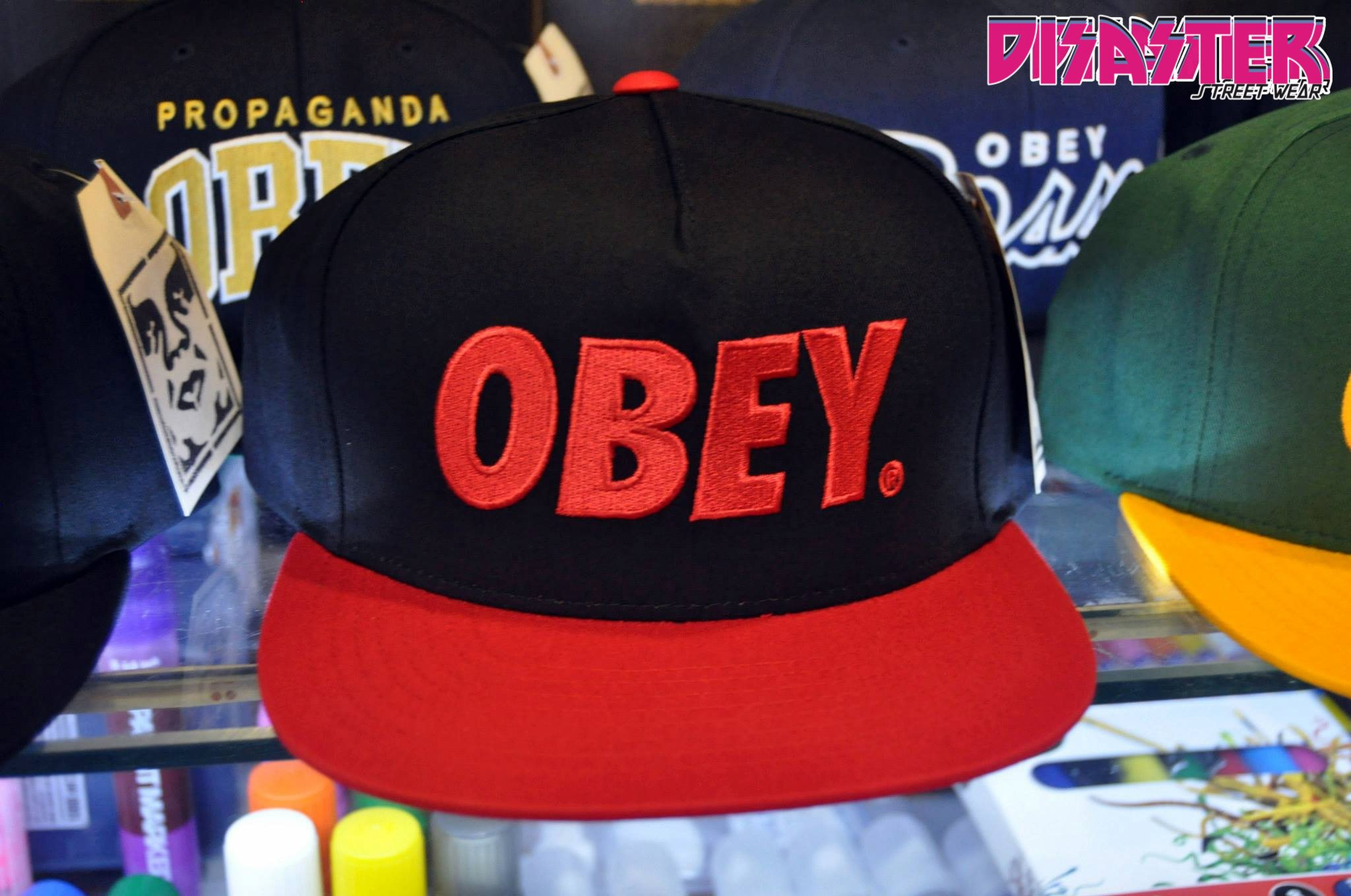 Obey-Gorra -Cap-Snapback-Disaster-Street-Wear-Obey-The-City-www.disasterstreetwear.com-1conlogo 0d48c063ad8