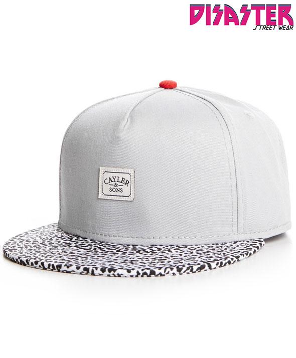 Gorra-Snapback-CAYLER-&-SONS-2-Tone-Micro-Leo-Cap-grey-white-micro-leo-CAY-SS14-39-01-Disaster-Street-Wear-01