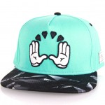 Gorra-Snapback-CAYLER-&-SONS-C&S-Cayler&Co.-Cap-mint-black-diamonds-black-Disaster-Street-Wear-01