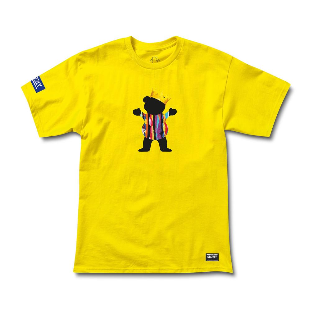 Camiseta Grizzly Felipe Gustavo Pro amarilla-Felipe_Pro_Yel-Disaster-Street-Wear-01