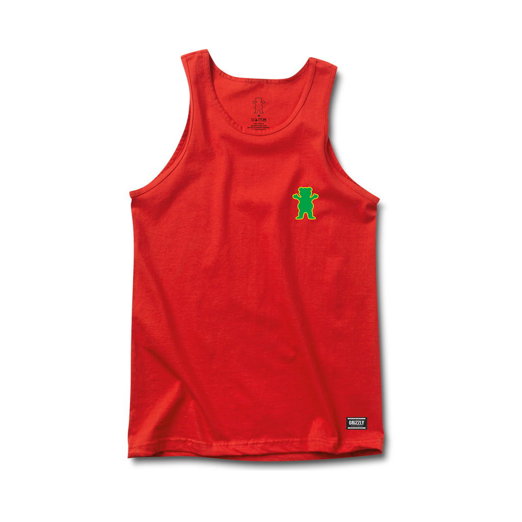 Camiseta de tirantas Grizzly Sports Academy roja-Grizzly_SM15_Tanks-Disaster-Street-Wear-01