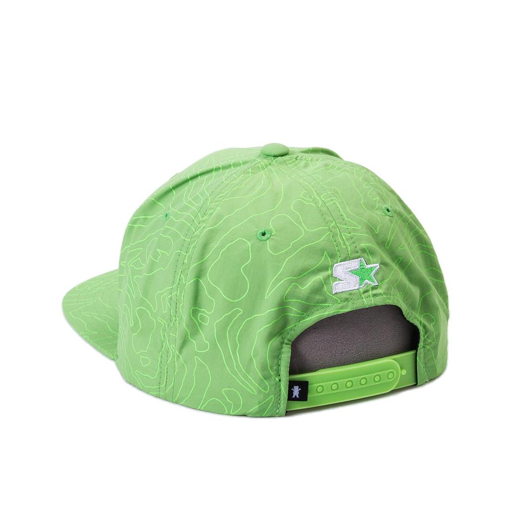 Gorra Grizzly snapback Topography OG Bear verde-Topography_Og_SB_Grn_Disaster-Street-Wear-02