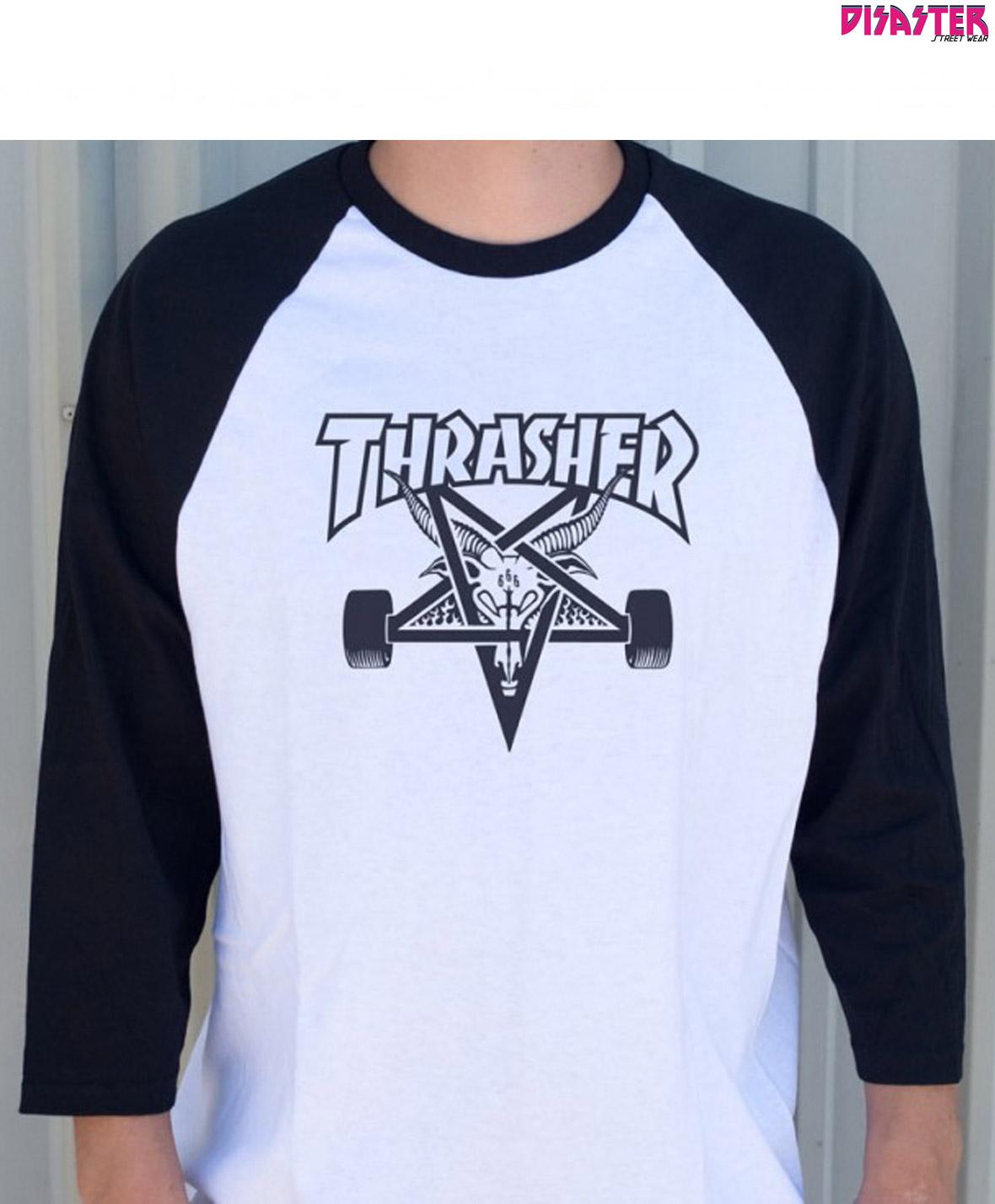 3b95481c7 camiseta-raglan-thrasher-skate-and-destroy-negra-malaga-disaster ...