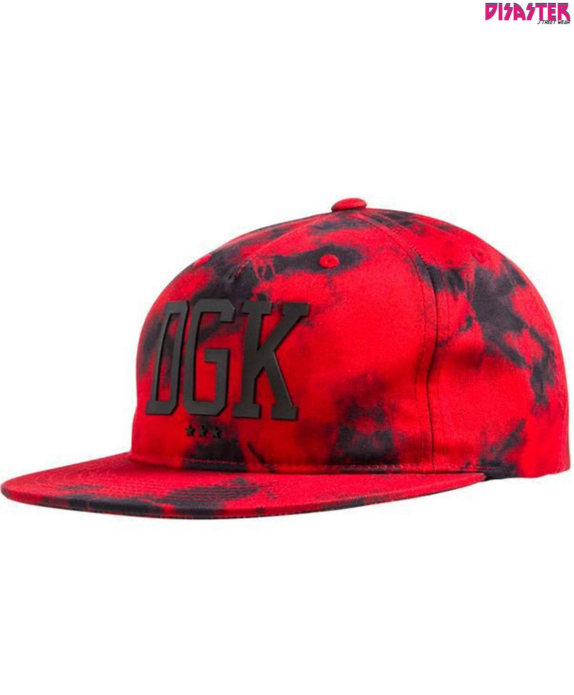 Gorra-DGK-Lava-snapback-visera-plana-malaga-disaster-street-wear-01 ... 90bb6d558a8