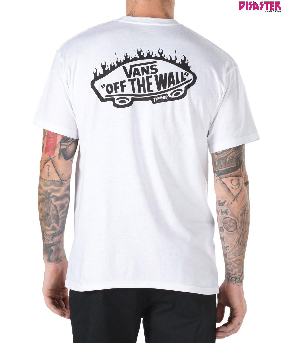 Camiseta para niño Vans By Thrasher White 0ffcaeb8906